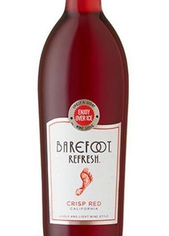 Barefoot Refresh Crisp Red 750ml, £3.99 In Store @ Home Bargains