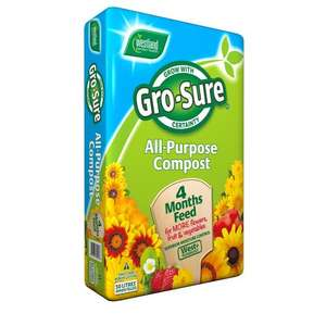 Gro-Sure All Purpose Compost 50L Was £4 Now £2 At Wilko In Store Norwich