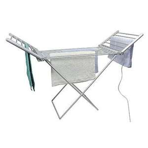 ELECTRIC CLOTHES AIRER DRYER INDOOR HORSE RACK LAUNDRY FOLDING WASHING DRY £30 @  batgainempire Ebay