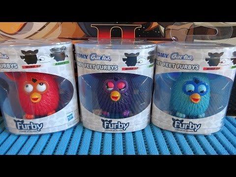 Tomy Funky Feet Furbys (Also Sonic & Shadow Varieties) £1 @ Poundland