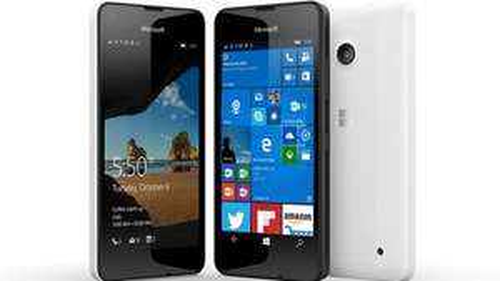 Microsoft Lumia 550. £49 on   O2 payg