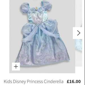 Cinderella kids fancy dress / dressing up costume £5 Matalan Instore