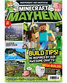 3 kids mags for £3.00 - Minecraft Mayhem, Your Comic Heroes, Your Gaming Heroes