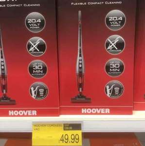 Hoover Flexi Power Cordless £49.99 @ B&M