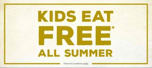 kids eat free all summer at Handmade Burger Company