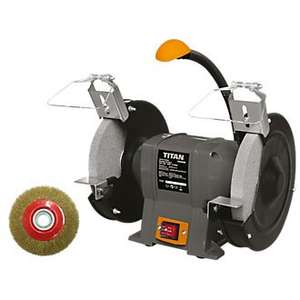 Titan Bench Grinder was £34.99 now £24.99 free c&c @ Screwfix