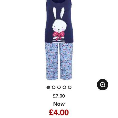 100% cotton ladies pjs now £4!!! @ George (Asda)