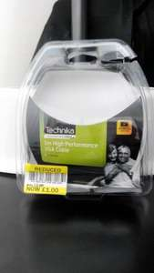 technika VGA cable 5m, £1, tesco watford