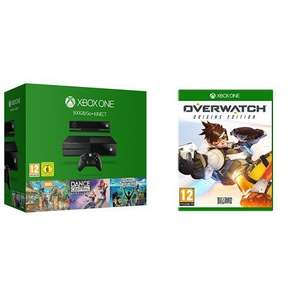 Xbox One 500GB Console + Kinect [Value Bundle]  + Overwatch £229.99 @ Amazon [Prime Exclusive deal]