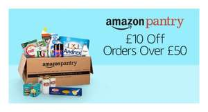 £10 off £50 Amazon Pantry spend (prime day deal)