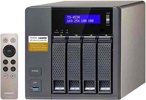 QNAP TS-453A-4G 4 Bay NAS Enclosure with 4GB RAM £336.98 Amazon Prime