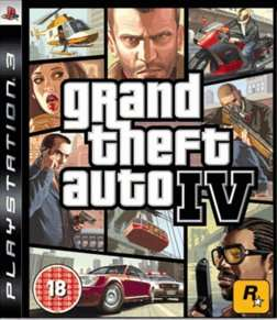 Grand Theft Auto IV PS3 (used) £1.59 delivered @ Game