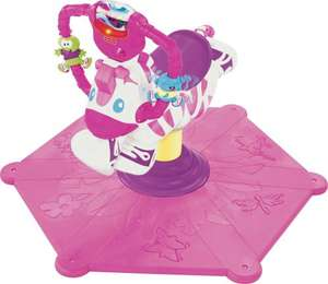 Fisher-Price Interactive Bounce 'n' Spin Zebra - Pink. £40.99 Sold by Argos ebay outlet