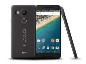 LG Nexus 5X 16GB Black/Ice Blue/White (O2 Upgrade) £129.99 @ O2