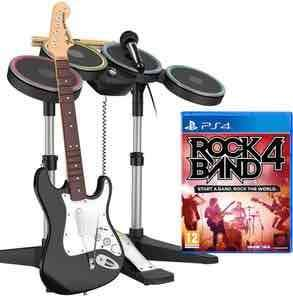 Rockband 4 Band-in-a-box (PS4/Xbox One) £59.99 Delivered @ Zavvi