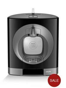 Nescafe Dolce Gusto KP110840 Krups Oblo Coffee Maker £44.99 at Very or £24.99 for new customers with code! - free c&c