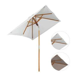 Wooden Garden Parasol Umbrella - 13% OFF £69.95 Sold by sc_computerecke and Fulfilled by Amazon