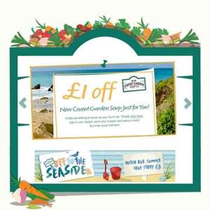 Covent Garden soup is £1 at Morrisons at the moment, £1 coupon on their website
