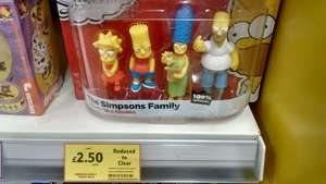 Simpsons figure pack - was £10 now £2.50 instore @ Tesco