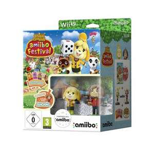 Animal Crossing: amiibo Festival & 2 amiibo & 3 Cards Wii U £14.99 @ Smyths