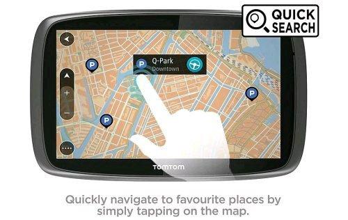 TomTom GO 5100 Sat Nav with MyDrive & Lifetime Traffic & Lifetime World Maps£187.19@ Halfords