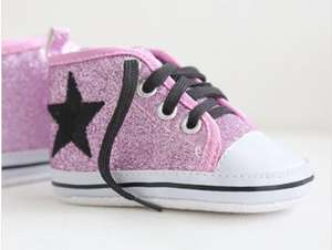 Pink Glitter High Tops (was £25) now £14.57 using code at My 1st Years