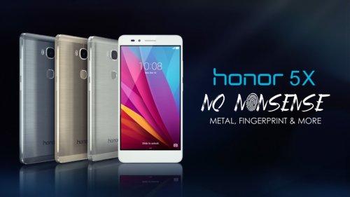Honor 5x 5.5'' 16GB Sim-Free Phone £139.99 @ Amazon  [All Colours]