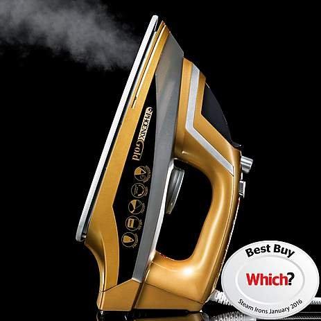 JML Phoenix Gold Ceramic Steam Iron £32.99 @ Dunelm