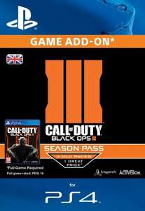 Call of Duty Black Ops 3 - Season Pass PS4 £30.99 electronicfirst