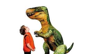 152cm Tall Mighty Megasaur Giant Inflatable Tyrannosaurus Rex was £14 now £8.97 C+C @ Asda George