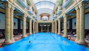 2 Nights from £99pp  / 3 nights from £129pp INCLUDING flights to Budapest Plus Gellert Spa Access (via various airports) via GoGroopie