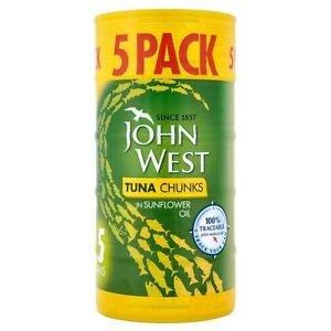 John West Tuna chunks in sunflower oil 5x160g tins £1.50 Asda (INSTORE)