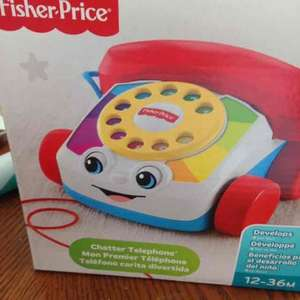 fisher price chatter telephone instore at Tesco (Prescot) for £3.50 (also online)