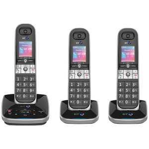 BT 8610 Digital Cordless Phone With Advanced Call Blocking & Ans Mach, £49.99/Duo, £69.99/Trio, £89.99/Quad @ John Lewis, Delivered