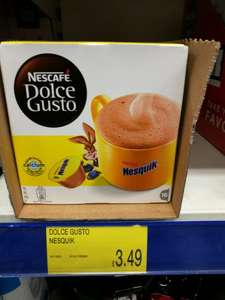 Dolce Gusto Nesquick hot chocolate £3.49 @ B&M