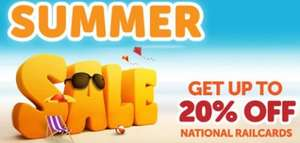 20% Off National Railcards perfect for holidays and staycations!