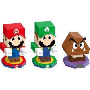 Mario & Luigi: Paper Jam Bros. Papercraft Set 75p + £1.99 P&P (Free del over £20)@ Official Nintendo Store