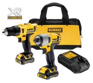 DeWalt 10.8V Li-Ion Drill Driver & Impact Driver Twin Pack 2 £125 - possible £79.20 with Trade-point card! @ B&Q