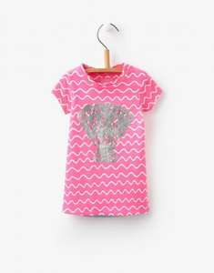 Joules Baby / Toddler Miranda Mermaid Dress in Pink Wave Stripe was £14.95 now £5.95 Del @ Joules Ebay Store