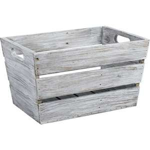 Various wooden baskets & chalkboard crates From £5.43 @ Homebase (see post)