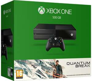 XBox One 500GB with Quantum Break £199.99 at Currys