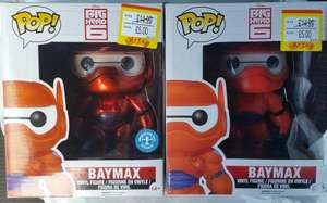 Pop! Vinyl Big Hero 6 Large Baymax £5 Instore @ Smyths