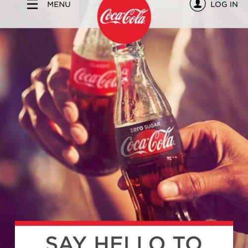 free Coca Cola via email