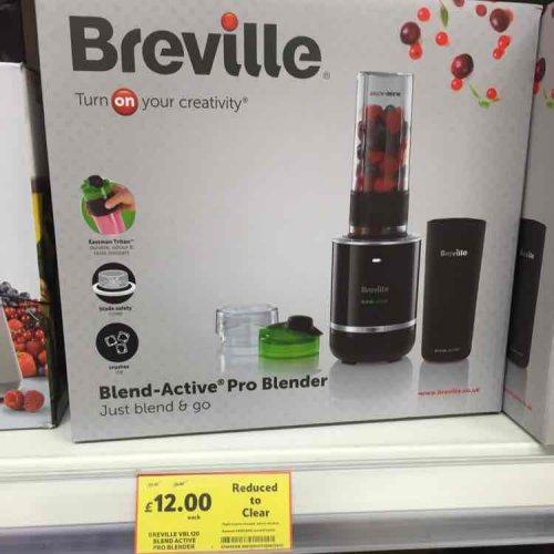 Breville Blend-Active Pro Blender £12 @ Tesco Bletchley