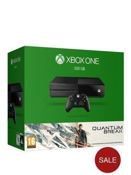 Xbox One 500GB Console with Quantum Break £199.99 @ Very.co.uk