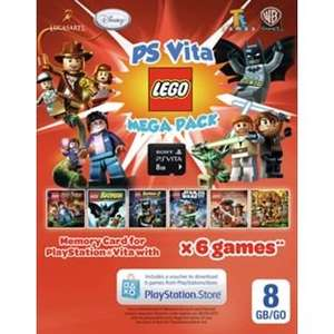 PS Vita 8GB LEGO Mega Pack @ Argos - £12.99