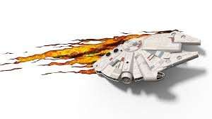Millennium falcon 3D wall light £13.99 delivered from merchoid (reduced from £39.99)