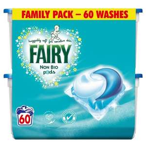 Fairy Non Bio Pods Washing Capsules - 3 x 60 Pack (180 Washes) £18.47  @ Amazon S+S - £18.47
