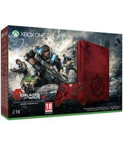 Xbox one S 2TB Limited Edition Gears of War Console £349.99 (pre order) @ game