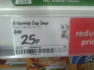 Ainsley Harriott Cup Soups 25p each @ Asda Instore